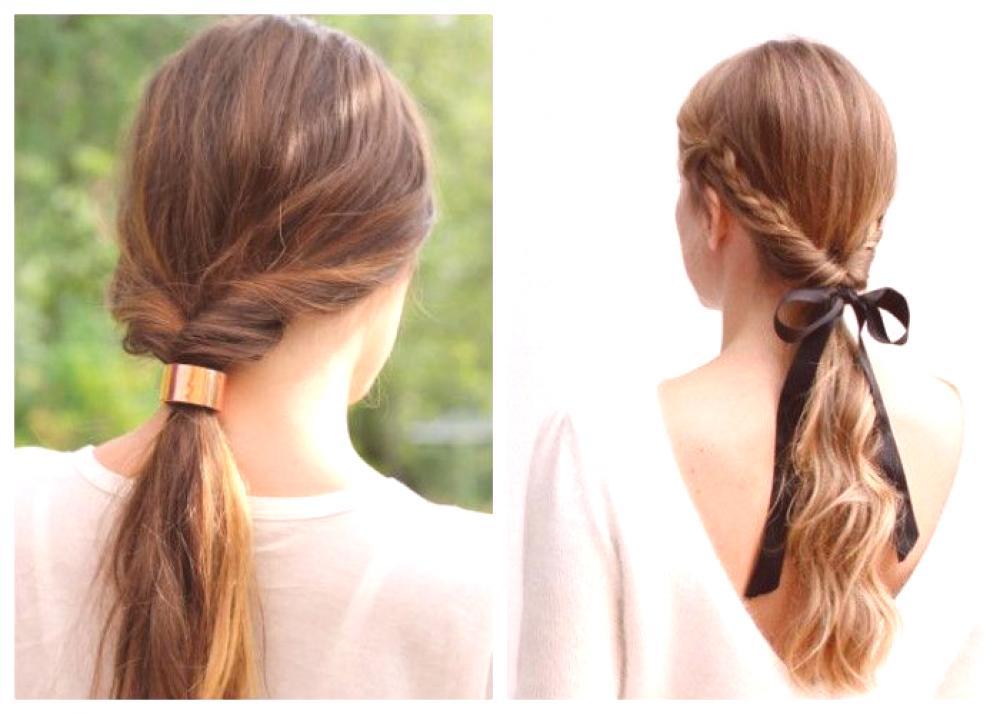 Penteados rápidos para todos os dias faça você mesmo